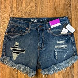 Mossimo high rise super stretch shorts NWT